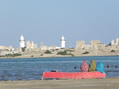 Vista della citta' di Suakin, Red Sea  State