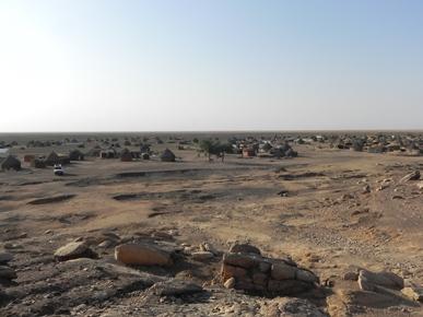 Vista del villaggio di Heleba – Stato di Gedaref