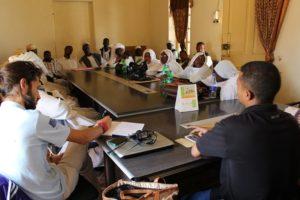 Durante l'incontro tra la locale Amministrazione sanitaria e lo staff di IC