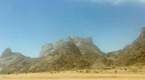 Le montagne di Kassala