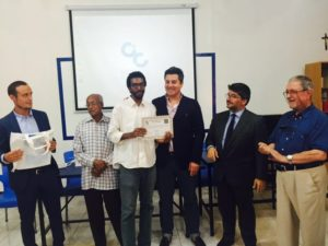 Ali Musa, the first student to pass the CELI exam in Sudan with an 'A' score