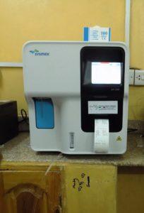 L'analizzatore di campioni ematici
