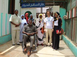 Rappresentanti del Ministero del Welfare,  dei tre Orfanotrofi di Khartoum e dell'Aics