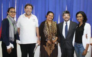 Representati di UN Women, e l'Agenzia Italiana guidata dal direttore  Alberto Bortolan e l'Ambasciatore d'Italia Fabrizio Lobasso